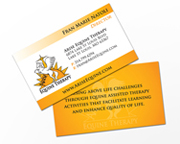 Arise Equine Therapy Business Cards