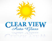 Logo Design for Clear View Auto Glass