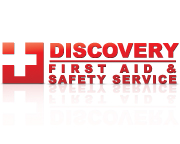 Logo Design for Discovery First Aid & Safety Service