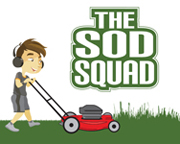Logo Design for The Sod Squad