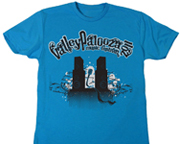 T-Shirt Design for ValleyPalooza Music Festival